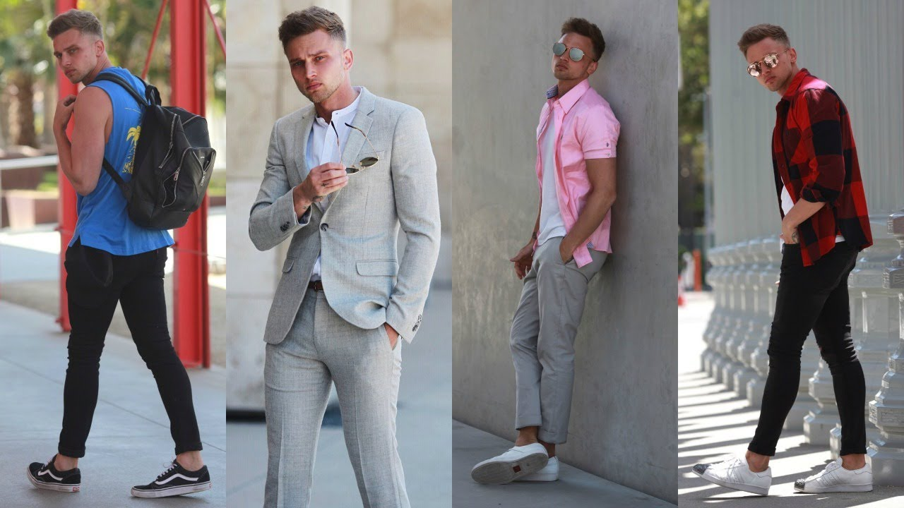 LA SUMMER LOOKBOOK 2017 | Mens Fashion Outfit Inspiration | Carl Cunard
