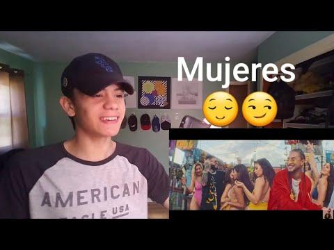 Mujeres Remix - Mozart La Para, Justin Quiles, Farruko, Jowell y Randy (Reaccion)