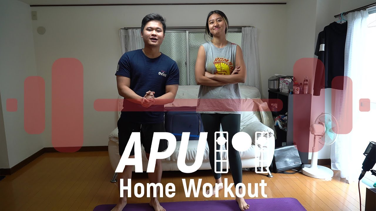 [APU101] Home Workout Routine!