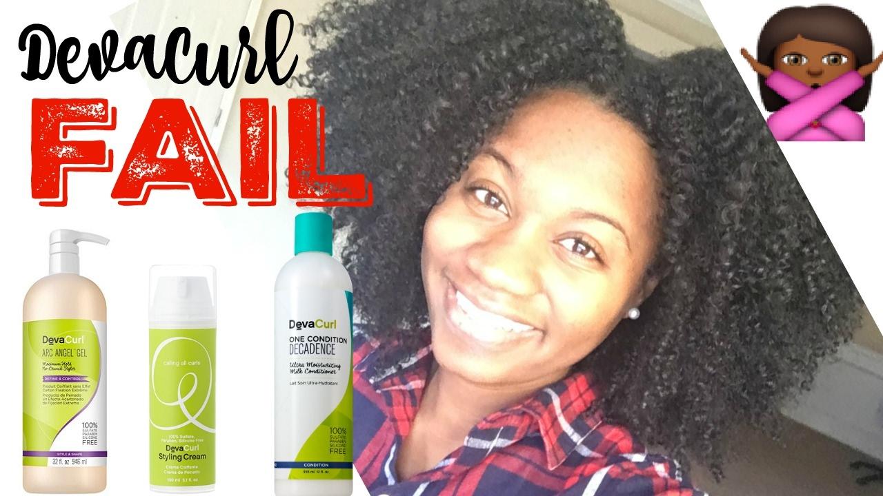 DevaCurl Wash N Go On Thick Natural Hair FAIL