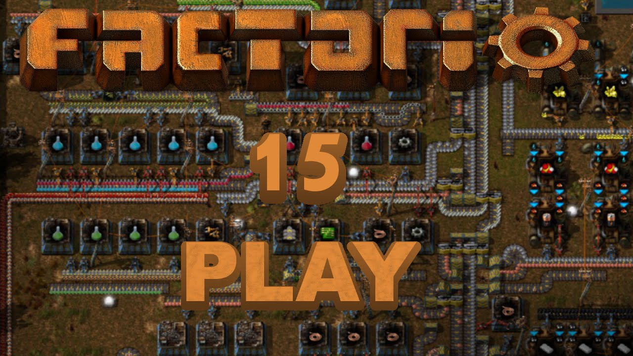 Factorio Play 15   Blue Science Packs