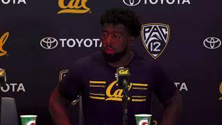 Cal Football: Raymond Davison Post-Game Presser - USC - Sept. 23, 2017 thumbnail