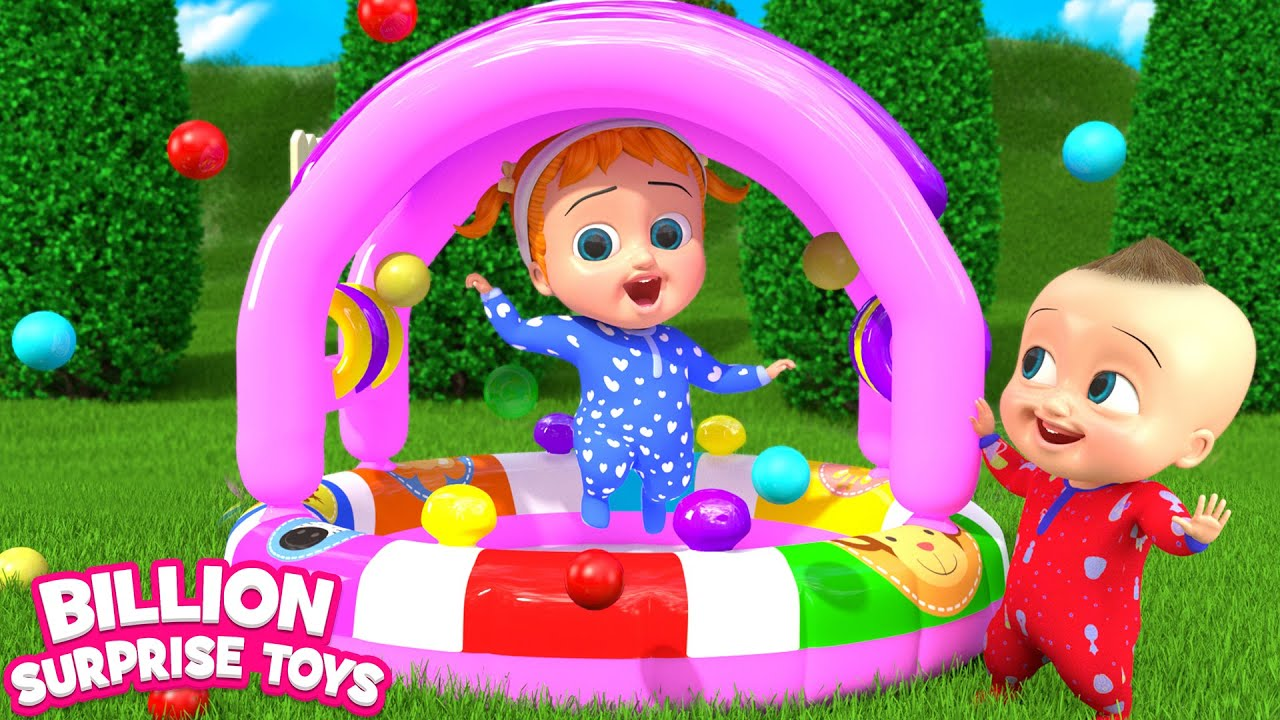 Inflatable Toy Daddys Gift | BST Song for Kids
