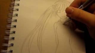 Hatsune Miku Speed Drawing
