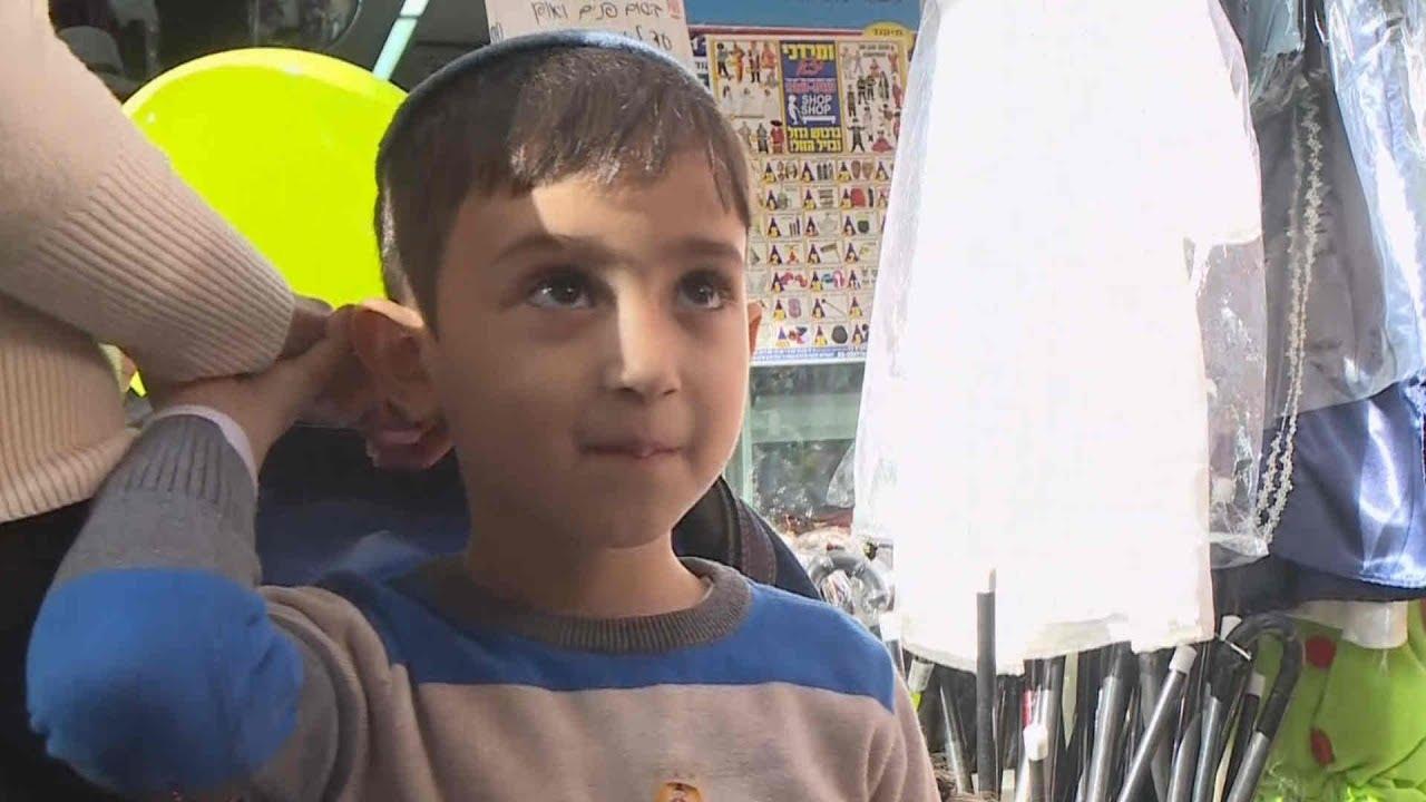 פורים ברחוב החרדי: יוותרו על תחפושת חייל? | מתוך חדשות הערב 22.02.18