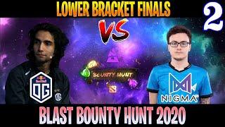 OG vs Nigma Game 2 | Bo3 | Lower Bracket Finals BLAST Bounty Hunt | DOTA 2 LIVE