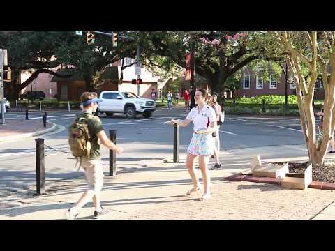 UL Lafayette: First Day of Class Fall 2017