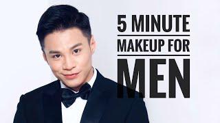 5 Minute Makeup For Men / Trang Điểm cho Nam trong 5 Phút