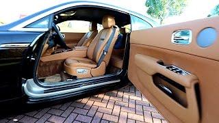 Rolls Royce visiting Cars and Coffee Dusseldorf