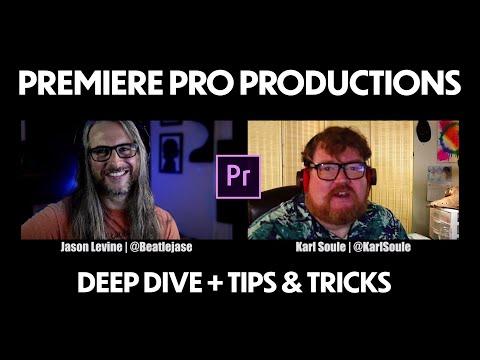 Deep Dive into Premiere Pro Productions (NEW Feature, April 2020)