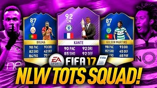 ???? tots hybrid squad builder ???? w/ 98 pace tots wingers! fifa 17