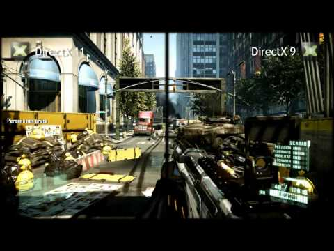 Crysis 2 - DirectX 11 Vs DirectX 9 (Ultra Upgrade)
