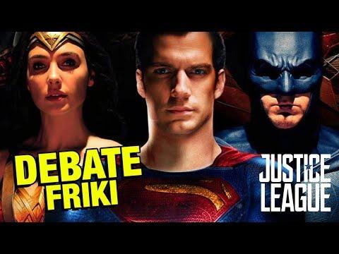 La Liga de la Justicia - Debate Friki - CRÍTICA - REVIEW - OPINIÓN - Justice League - Snyder