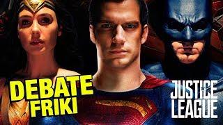 La Liga de la Justicia - Debate Friki - CRÍTICA - REVIEW - OPINIÓN - Justice League - Snyder thumbnail