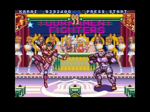 TMNT Tournament Fighters- Karai Playthrough Part 2 (Vs Rat King)
