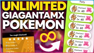 How To Get UNLIMITED GIGANTAMAX POKEMON in Pokemon Sword and Shield | Max Raid Battle Exploit!