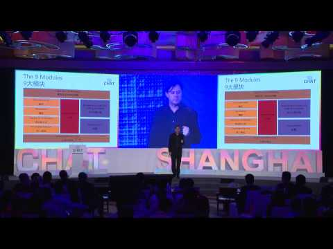 Keynote & Speech Walter Junger // CHAT Shanghai 2014 Conference