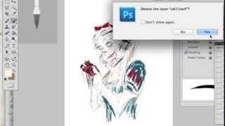 Drawing Zombie Princess