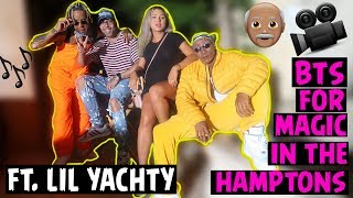 OLD PEOPLE GONE WILD! {Magic In The Hamptons} bts FT Lil Yachty!