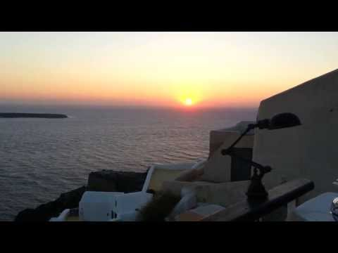 Oia Santorini Greece sunset