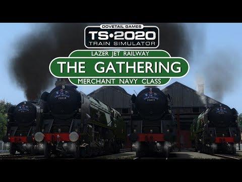 Train Simulator 2020 - The Gathering - Merchant Navy Class (Live Stream)