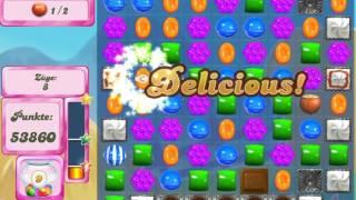 Candy Crush Saga Level 185 - No Boosters