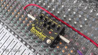 Tech 21 Sansamp Bass Driver V2 DI - Manual Settings Demo
