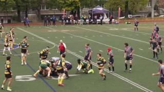 Piranhas Rugby Match 1/4 de finale 2016 - SHERBROOKE