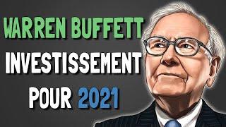 🔥🔴 WARREN BUFFETT VIENT D'ACHETER DE NOUVELLES ACTIONS 👉 PORTEFEUILLE POUR 2021 👉 4 OPPORTUNITÉS !