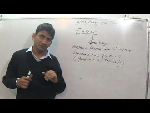 MASS ENERGY EQUIVALENCE PHYSICS 16  FOR IIT JEE PMT BOARD CLASSES