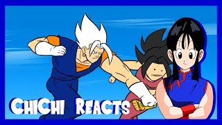 CHICHI REACTS: VEGITO VS KEFLA, DRAGON BALL PARODY