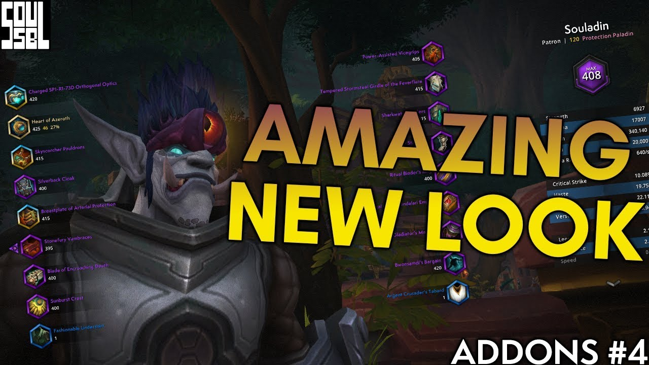 3 IMMERSIVE Addons For a 2019 Warcraft Look!