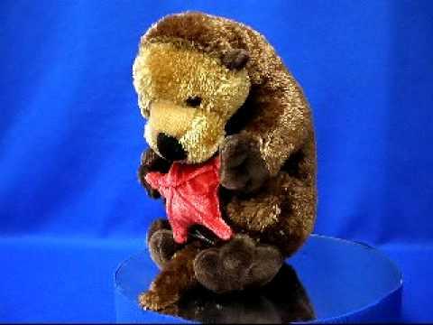 Sea Otter Plush Stuffed Animal At Anwo Com Animal World Youtube