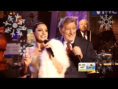 Lady Gaga & Tony Bennett - Winter Wonderland (live @ GMA the 25th of December)