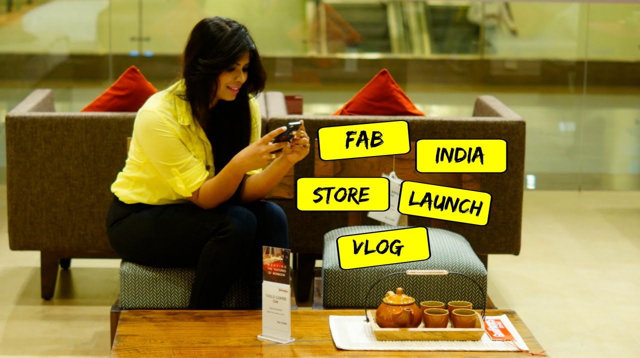 Fab india store launch vlog ft home decor styling tips by for Good home decor stores