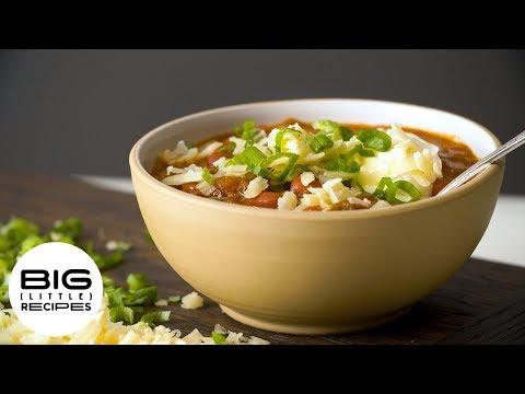 Busy Weeknight Bean Chili   Big Little Recipes