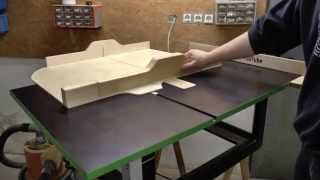 Homemade Backup Table Saw