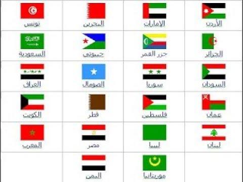 اعلام وعواصم دول الوطن العربي 2019 Youtube