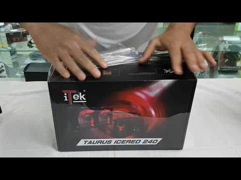 iTek Taurus IceRed 240 - unboxing e recensione ITA