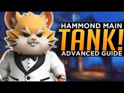 Overwatch: Hammond Main TANK! - Wrecking Ball Advanced Guide