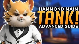 Overwatch: Hammond Main TANK! - Wrecking Ball Advanced Guide