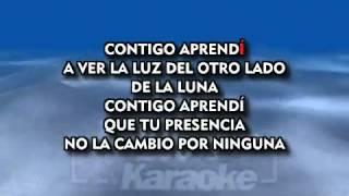 CONTIGO APRENDÍ  Nicho Hinojosa  KARAOKE    YouTube