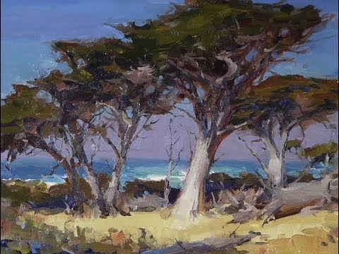 How to paint better trees with  John Burton