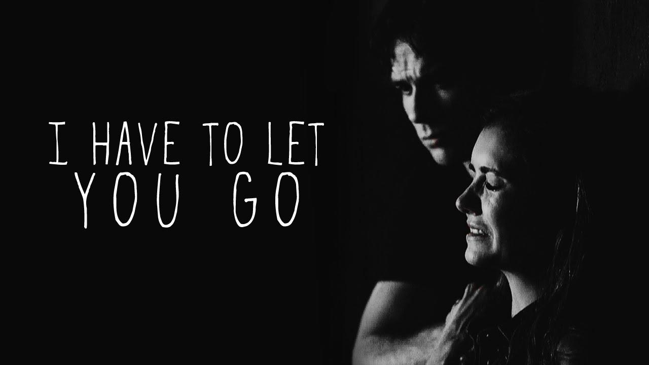 I Have To Let You Go Damon Elena 6x01 Youtube