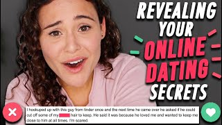REVEALING YOUR ONLINE DATING SECRETS | AYYDUBS