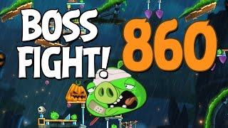Angry Birds 2 Boss Fight 120! King Pig Level 860 Walkthrough - iOS, Android