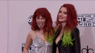 Bella Thorne and  Dani Thorne Fashion - AMAs 2016