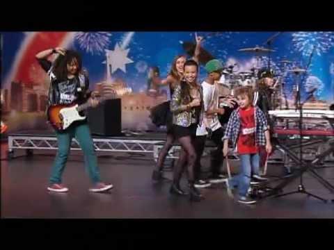Larger Than Life - Australia's Got Talent 2012 audition 4 [FULL]