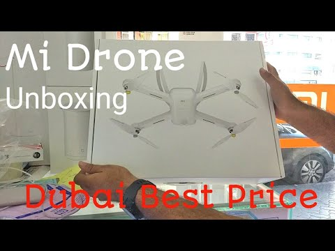 Hindi | Mi Drone Unboxing . Available In Dubai