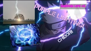 Roblox I Shinobi Life #5 I Purple Lighting Review I CHIDORI!